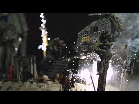 Exploding Lego Star Wars 2.0 - Now with SOUND EFFECTS!