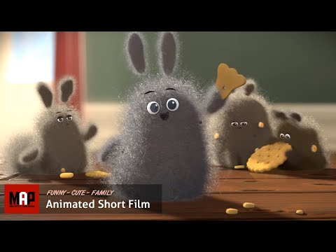 CGI 3D Animated Short Film ** DUST BUDDIES **- Funny & Cute Animation by Ringling College