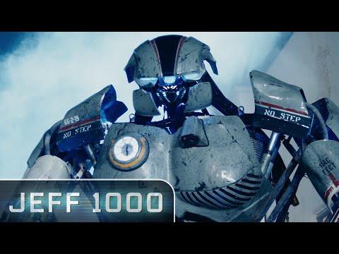 Meet Jeff: 10' Tall Robot & Hollywood Actor | Jeff 1000 Starring Summer Glau