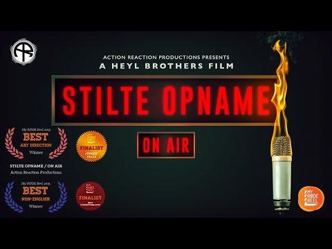 STILTE OPNAME / ON AIR - MY R�DE REEL 2015