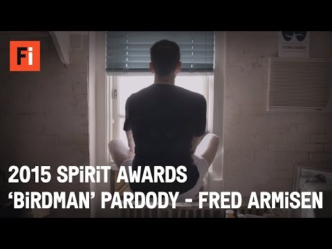 BIRDMAN Parody - Fred Armisen and Kristen Bell | 30th Film Independent Spirit Awards