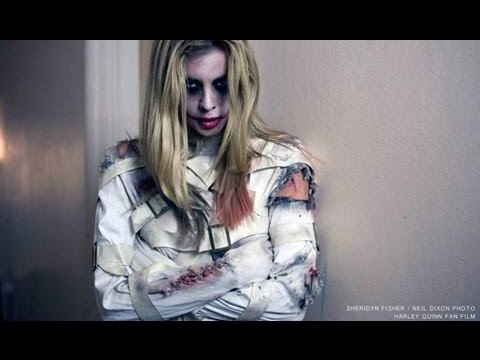 """Making of the """"Red Queen"""" a Harley Quinn inspired Fan film by Sheridyn Fisher, Kerryn Williams"""